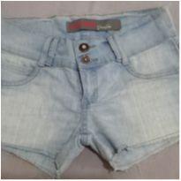 Shorts jeans curtinho - PP - 36 - clock house