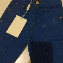 Calça jeans flare - 6 anos - Petit Cherie