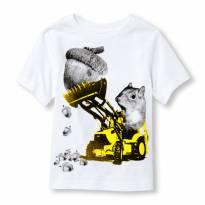 Camiseta importada Esquilo - 18 a 24 meses - The Children
