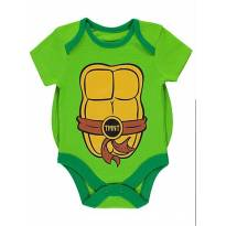 Body tartarugas ninja - 6 a 9 meses - nickelodeon