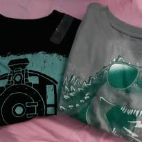 2 camisetas importadas Dino e trem - 2 anos - The Children`s Place