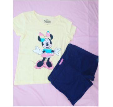 Conjunto minnie mouse - 8 anos - Disney e marisa