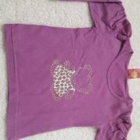 Blusinha manga longa estampa ursinha com strass - 2 anos - Ralakids
