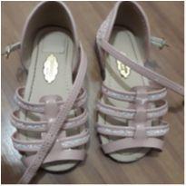 Sandália rosinha com Glitter - 23 - Molekinha