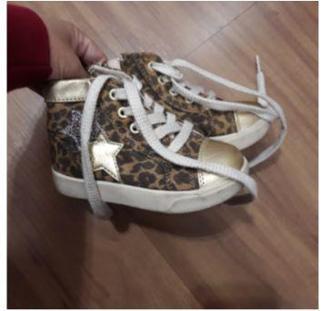 Tenis botinha estampa de oncinha - 22 - DC Shoes