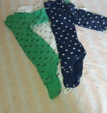 Kit 3 bodies carters - 18 a 24 meses - Carter`s