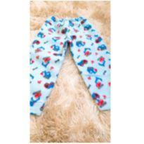 Calça soft azul - 12 a 18 meses - Sem marca
