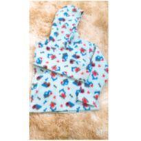 Blusa soft azul - 12 a 18 meses - Sem marca