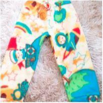 Calça soft amarela - 12 a 18 meses - Sem marca