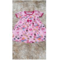 Vestido rosa - 2 anos - Sem marca