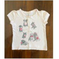 t-shirt pets baby gap - 12 a 18 meses - Baby Gap