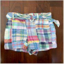 shortinho xadrez ralph lauren baby - 18 meses - Ralph Lauren