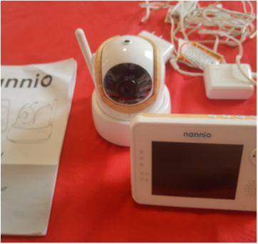 câmera Nannio Comfy Video Baby Monitor 3,5 - Sem faixa etaria - Importada