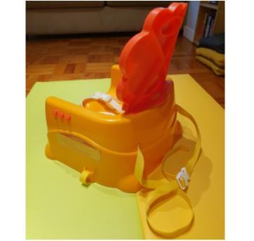 Booster Leaozinho da Fisher Price (cadeira de alimentacao) - Sem faixa etaria - Fisher Price