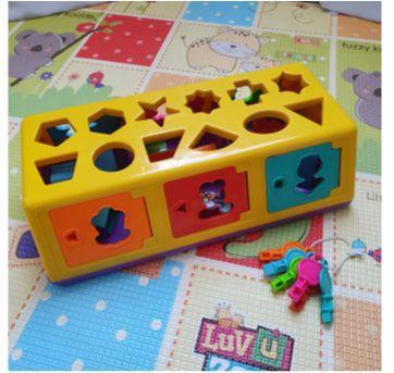 Caixa Encaixa 18 peças - Estrela - Sem faixa etaria - Estrela
