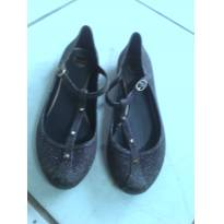 kit 2 sapatilhas zaxy 1 prata e 1 roxa com glitter tamanho 37 - 36 - Zaxy