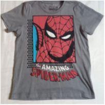 Camiseta homem aranha Tam 6 Marvel - 6 anos - MARVEL