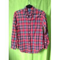 Camisa social Ralph Lauren flanelada - 14 anos - Ralph Lauren