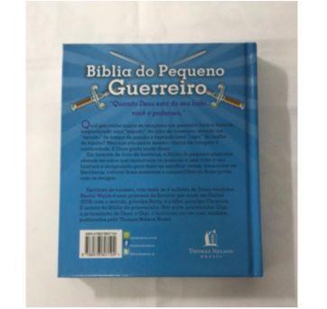 Bíblia Pequeno Guerreiro - Sem faixa etaria - Thomas  Nelson