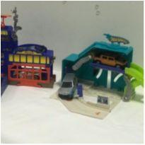 Mini Posto de serviço Hot wheels -  - Mattel