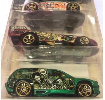 Combo  Kits  Carrinhos Hot Wheels - Sem faixa etaria - Mattel