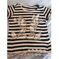Camiseta Mickey e Minnie - 6 anos - C&A