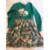 Vestido Turma da Mônica - 6 anos - Brandili