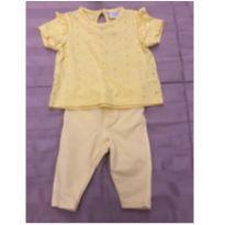 Conjunto Baby Way Amarelinho - 0 a 3 meses - Baby Way