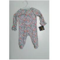 Pijama macacão Carter`s com pes Tamanho RN - Recém Nascido - Carter`s