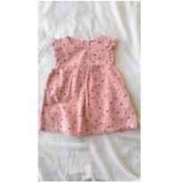 Vestido importado Cubus rosa Tamanho 3m - 3 meses - Importada
