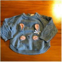 Blusa de frio coelhinho - 3 a 6 meses - Teddy Boom