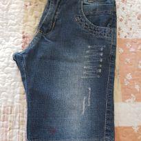 Bermuda Jeans - 6 anos - Não informada