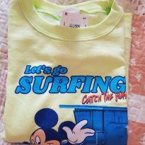 Blusa de moleton - 7 anos - Disney