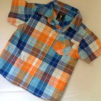 Camisa xadrez u.s. Polo assn - 12 a 18 meses - US Polo Assn