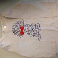 Camiseta manga longa Gymboree - 18 meses - Gymboree
