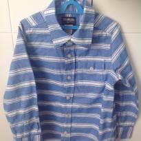 Camisa manga longa oshkosh