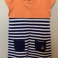 Vestido laranja - 5 anos - Gymboree