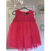 Vestido de festa Pink - 12 a 18 meses - The Children`s Place