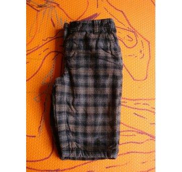 Calça de lã xadrez Gap (6-12m) - 6 a 9 meses - GAP