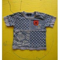 Camiseta em malha japonesa - 1 ano - Sem marca