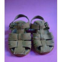 Sandália de couro Ortopasso - 23 - Ortopasso