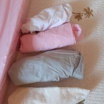 Trocador para cômoda com 4 lençóis 100% algodão -  - Não informada