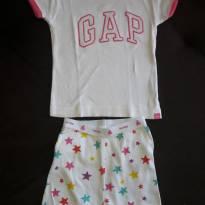 Pijama BabyGap - 6 a 9 meses - Baby Gap