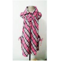 vestido de Flanela luxo - 10 anos - Figurinha