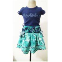 Conjunto luxo saia e blusa - 10 anos - Pituchinhus