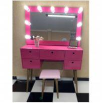 Penteadeira Camarim Pink -  - Não informada