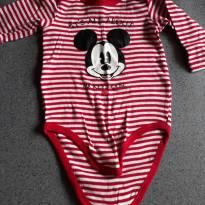 Body Mickey listrado - 1 ano - Disney baby e cea e outro