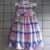 Vestido Xadrez Rosa - 3 anos - Ralph Lauren