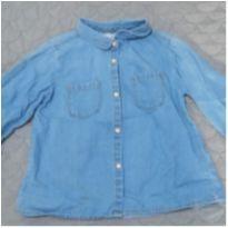 Camisa Jeans - 2 anos - Zara