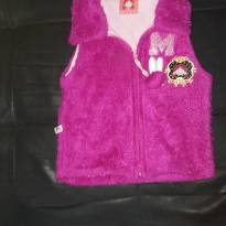 Colete rosa pink - 6 anos - Turma da Mel